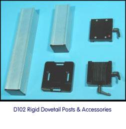 D-102 Stand Rigid Post Accessories